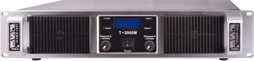 amplifiers T(M)-series with DSP
